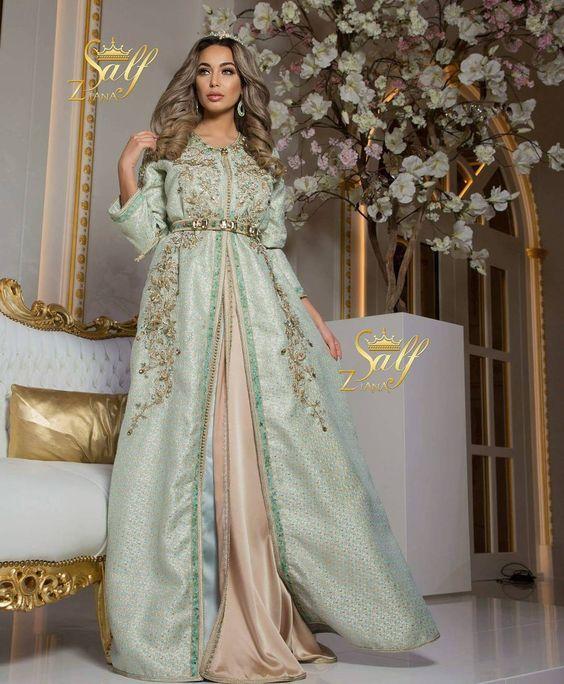 caftan mariage 2019   splendeur  u0026 raffinement