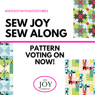 Sew Joy Sew Along voting for a pattern