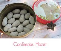 Mazet confiseur : Praslines, Amandas et Framboizettes