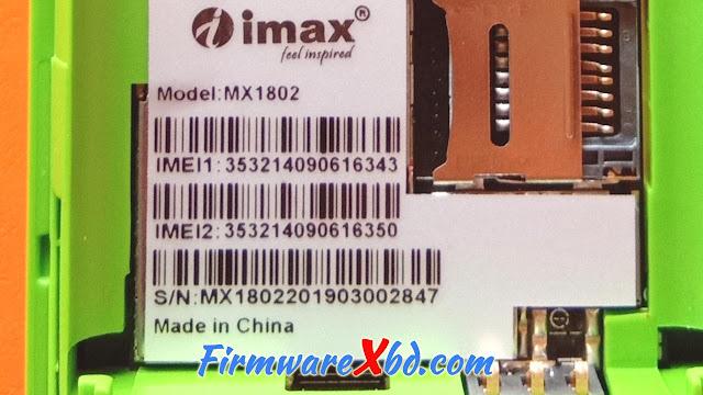 Imax MX1802 Flash File Download Free