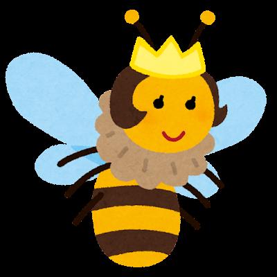 嬢王蜂のキャラクター