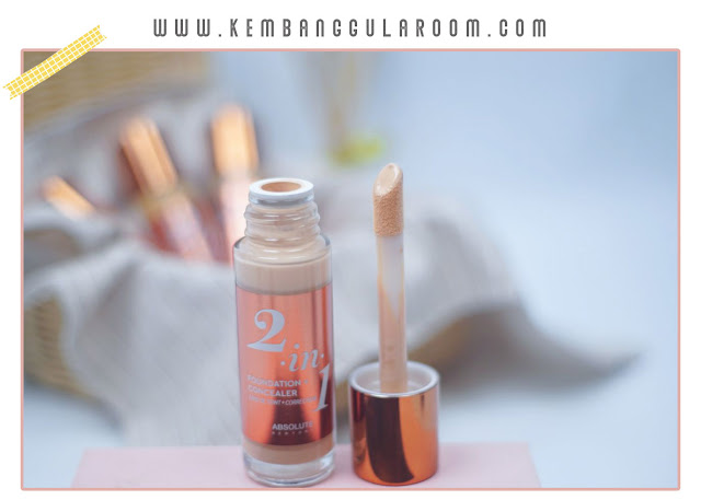 Absolute New York 2 in 1 Foundation + Concealer