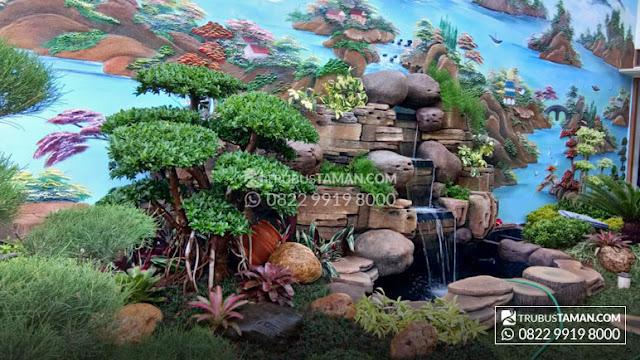 Tukang Taman Jakarta - tukang taman dekorasi air terjun.