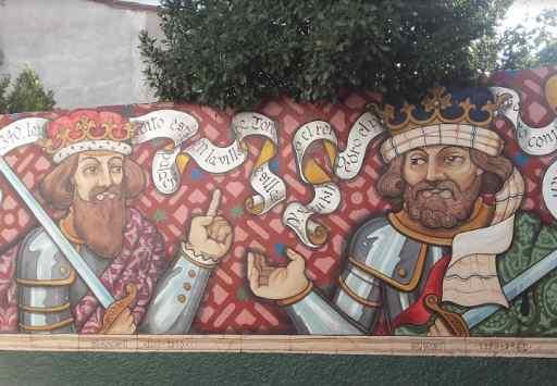 murales para ver en Tordesillas