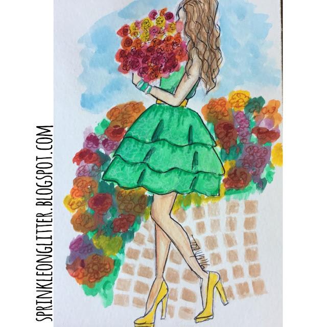 Sprinkle On Glitter Blog// Flower Girl