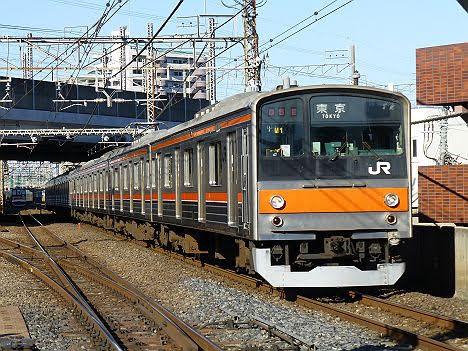 【引退!】武蔵野線205系5000番台 東京行き