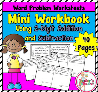 Mini Workbook using 2 Digit Addition and Subtraction