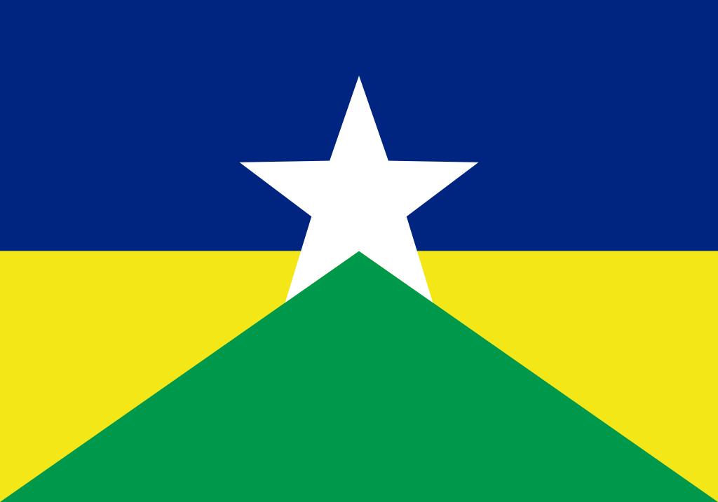 Bandeira do estado brasileiro de Rondônia