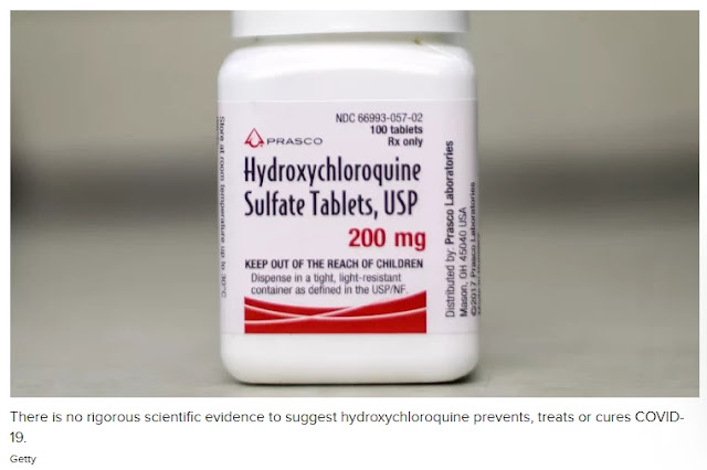 Hydroxychloroquine is trending again. It is nonetheless no remedy for COVID-19