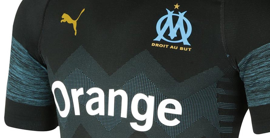 04526ae6f71 The Olympique Marseille 2018-19 away kit is the first to be made by Puma  after taking over from Adidas. It was released together with the new home  and third ...