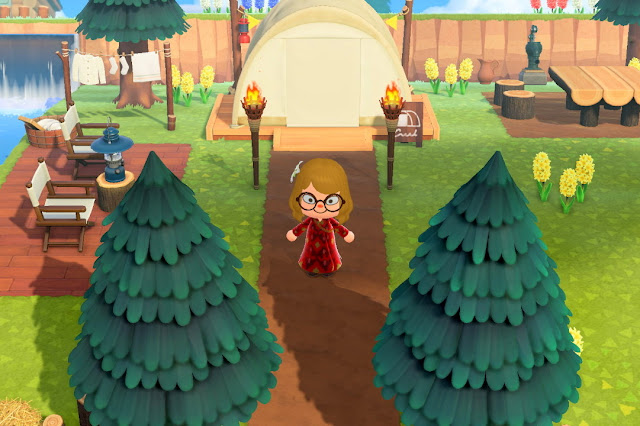 Animal Crossing Campingsite