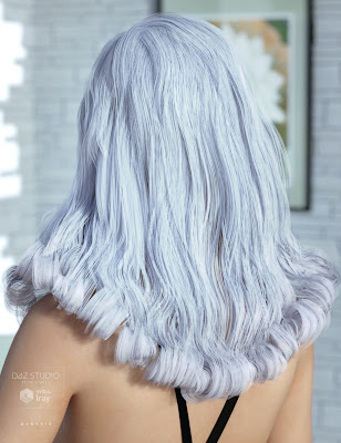 Fane Hair for Genesis 3 Female(s)