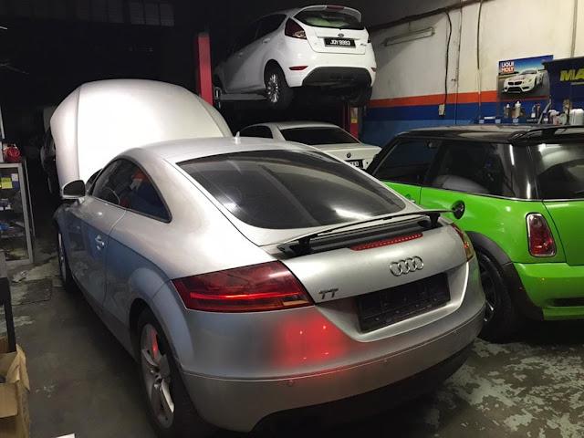 Audi TT 2.0 ini telah di lelong oleh pihak Ambank akibat tertunggak loan kereta selama 19 bulan