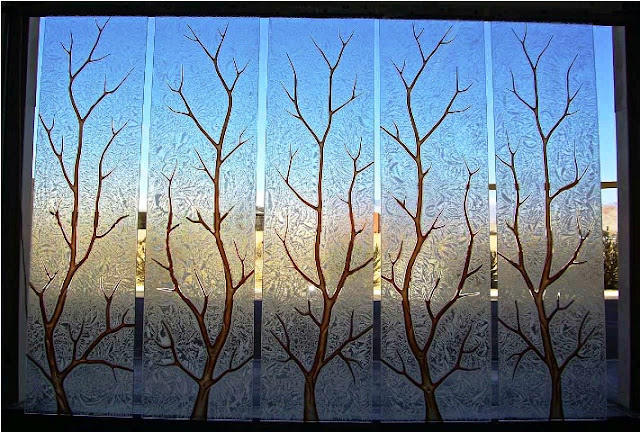 Etched GLASS WINDOW Films