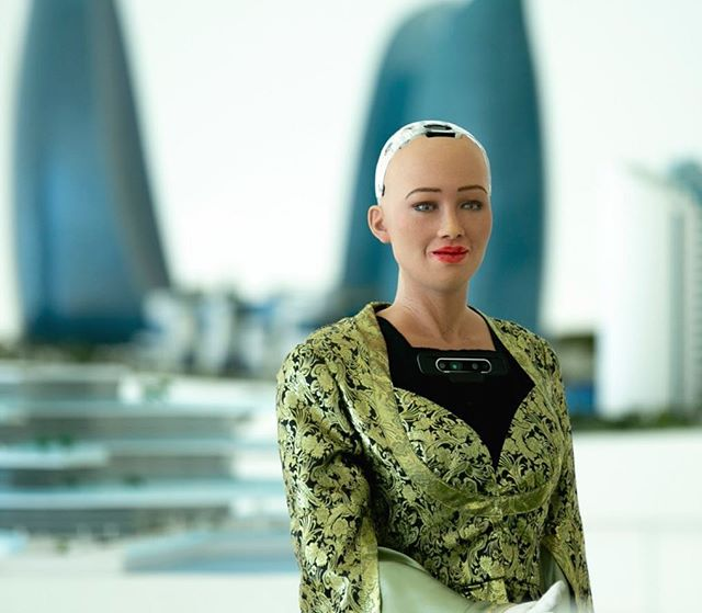 Sophia the Robot Photos
