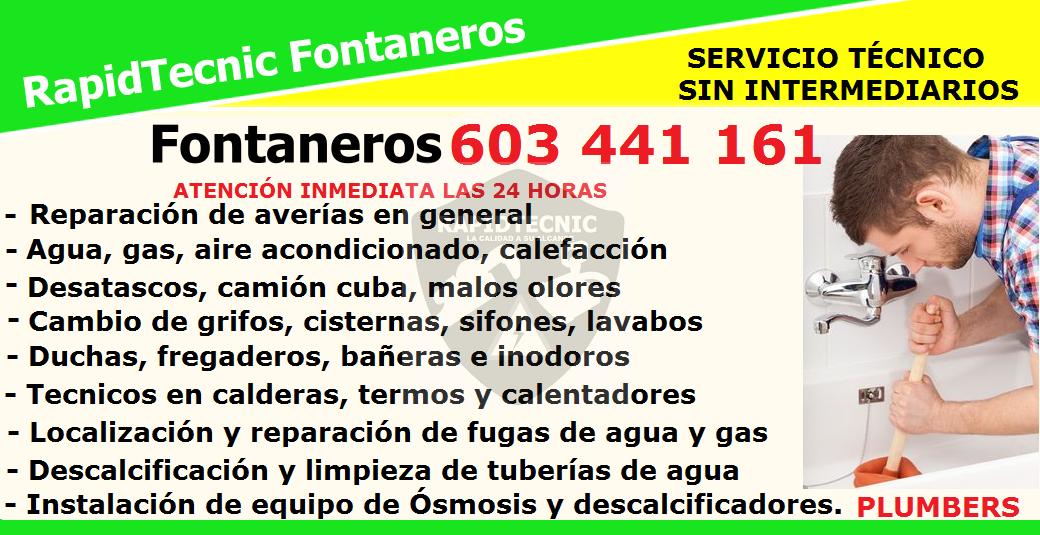 Rapidtecnic madrid fontaneros arapiles madrid 603 441 161 - Fontaneros de madrid ...