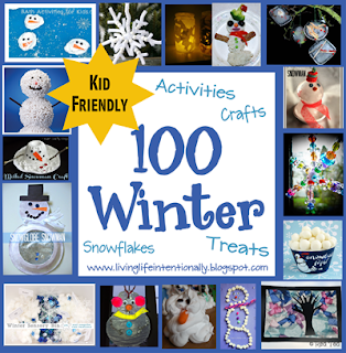 100  winter crafts for kids