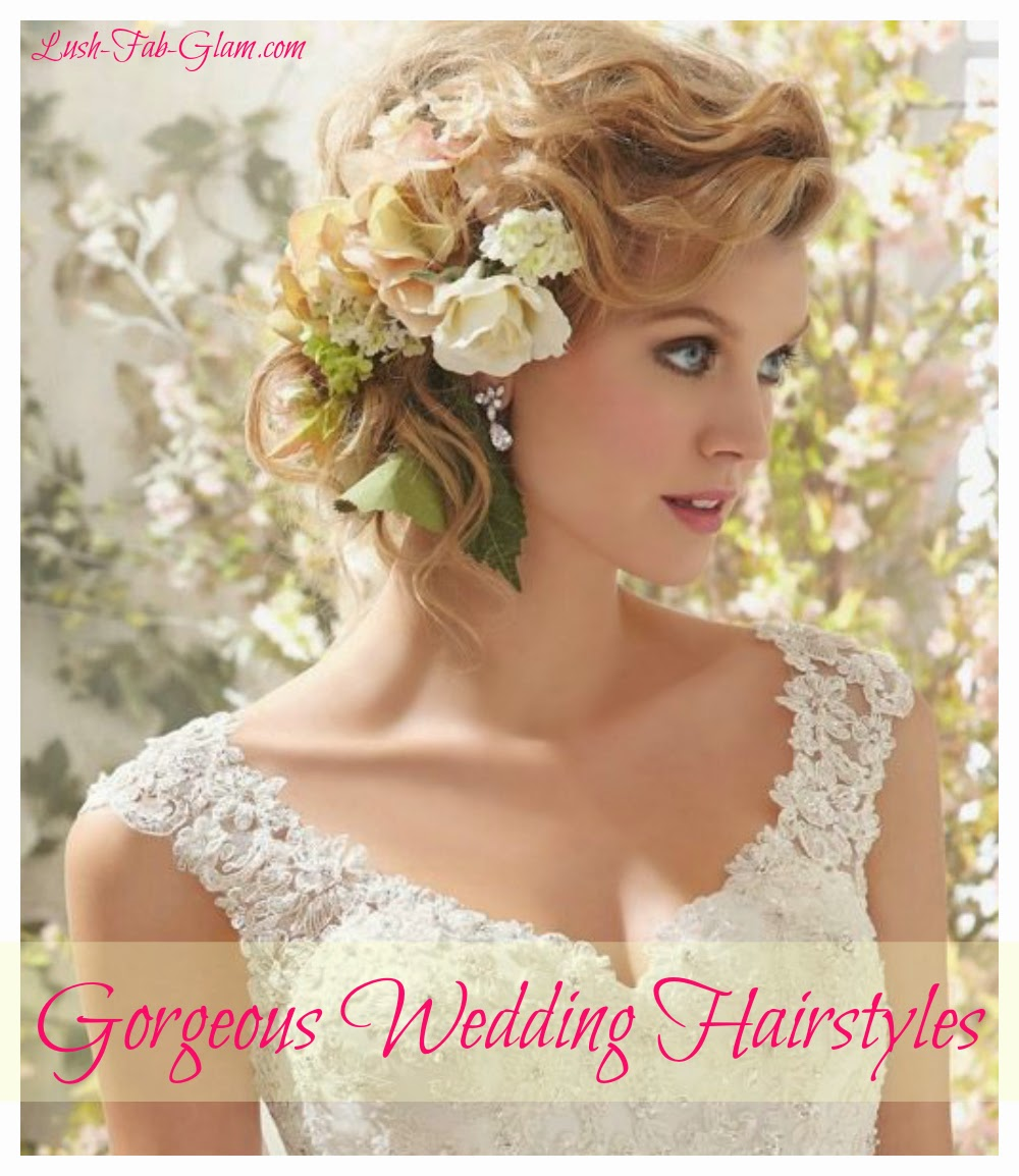 Modern Wedding Hairstyles For The Cool Contemporary Bride: Lush Fab Glam Inspired Lifestyle For The Modern Woman