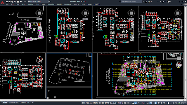Hospital Project [DWG]