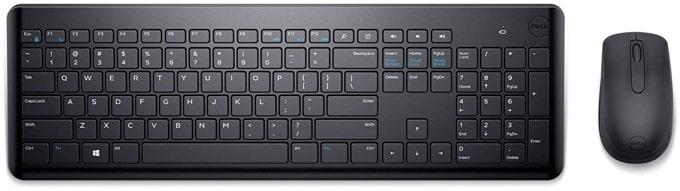 Dell KM117 wireless keyboard mouse comb under Rs 1500 in India.