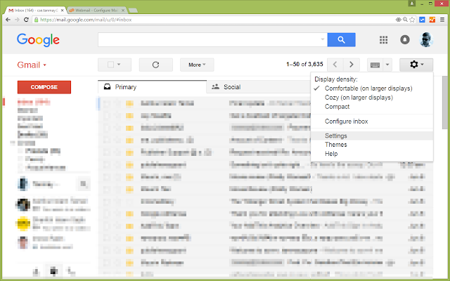 How to connect Webmail with Gmail? Send/Receive emails from/to your webmail email addresses right from/in your gmail account.