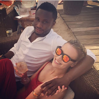 Mikel Obi's Partner Reacts To Split Rumours