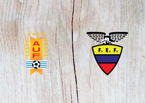 Uruguay vs Ecuador Full Match & Highlights 17 June 2019