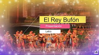 """Presentación con Letra Comparsa """"El rey burlón"""" de Juan Fernández (2013)"""