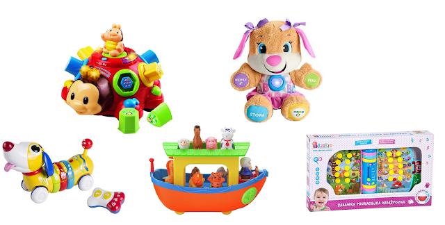 Zabawki dla malucha na deszczową pogodę