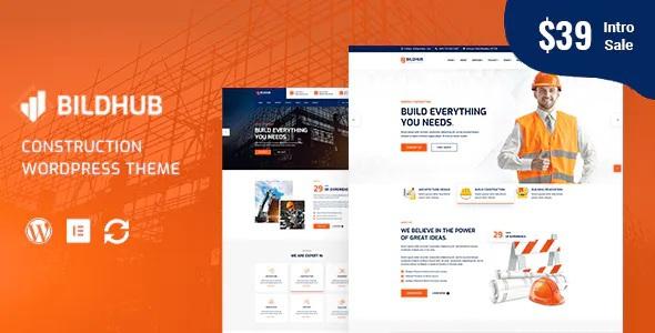 Best Construction & Building WordPress Theme