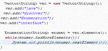 Java Enumeration with example