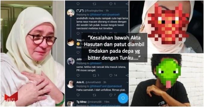 Netizen berjaya kesan individu penyebab, Raja Permaisuri tersinggung & tutup akaun Twitter.Patutlah...