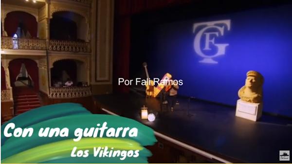 """🗺Pasodoble con LETRA """"Con una guitarra"""" 🛠 Comparsa """"Los Vikingos"""" (2003) por Fali Ramos"""