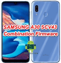 Samsung A30 SCV43 Combination Firmware