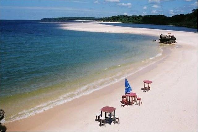 Alter do chão a magia da praia mais bonita
