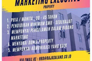 Lowongan Kerja Bandung Marketing Executive Property Rajasa Land