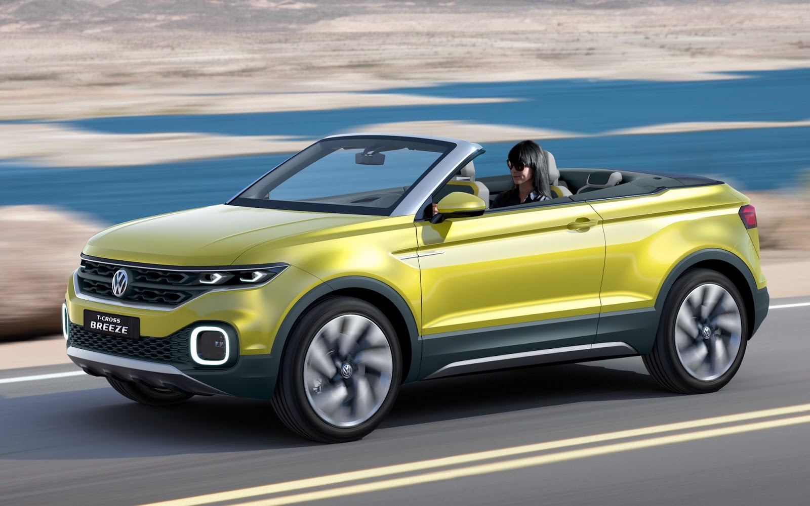 Vw T Cross Breeze Concept Is A Topless Juke Sized