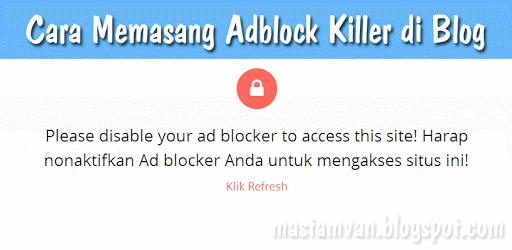adblock killer blogger