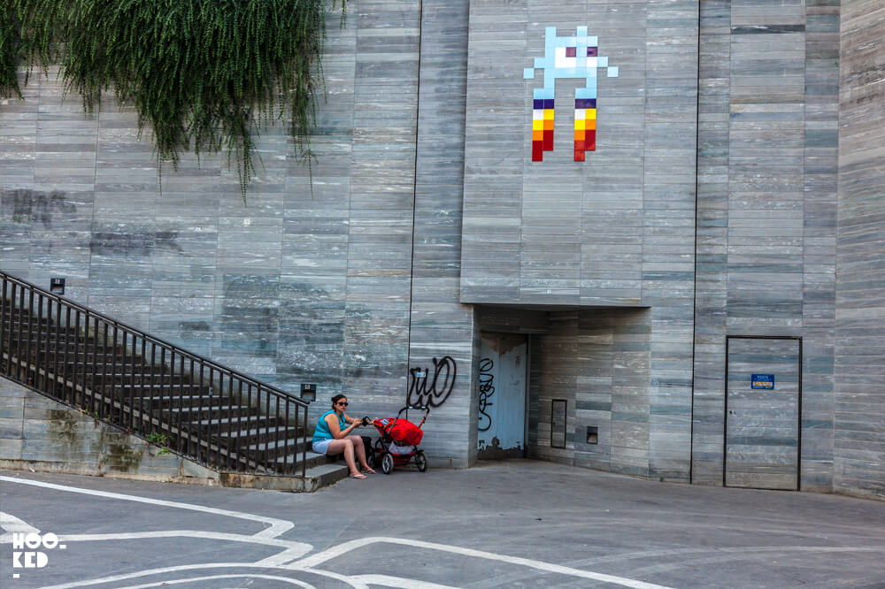 Paris Street Art by artist Invader