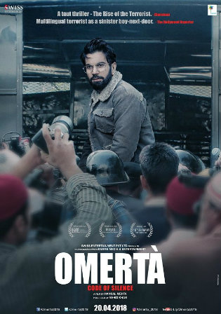 Omerta 2017 WEB-DL 300MB Hindi Movie Download 480p