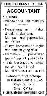 Lowongan Kerja PT. Inquiry Alvenindo