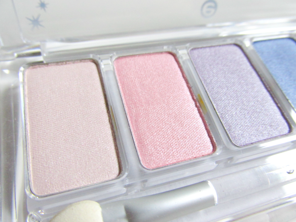 essence Cinderella - Eyeshadow Palette 01 It´s more than I ever hoped for - Rosa & Flieder Töne nah