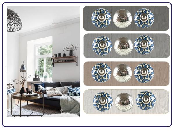 Bouton de meuble scandinave