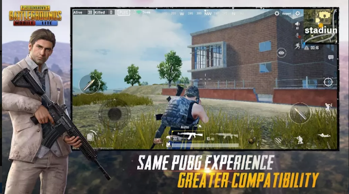 Download PUBG MOBILE LITE for Android 400 MG