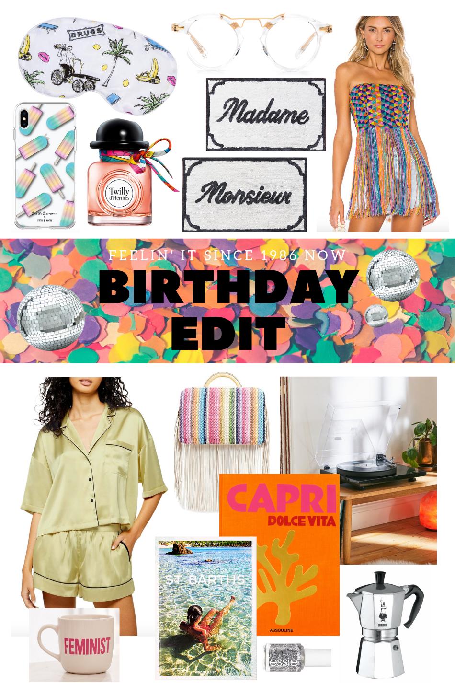 The Birthday Edit: Thirty Something