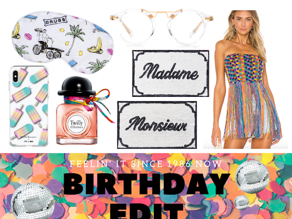 The Birthday Edit: Thirty Something