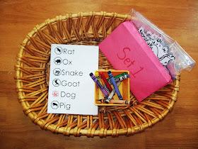 Chinese Zodiac Animal Spelling Activity