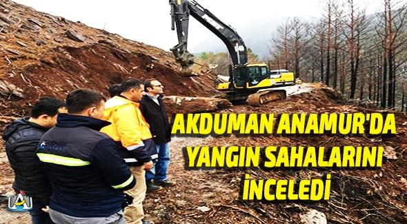 Anamur Haber, Anamur Son Dakika, Anamur Orman İşletme Müdürlüğü,