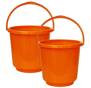 Princeware Super Deluxe Bucket 25 Ltrs Each (Set of Two)