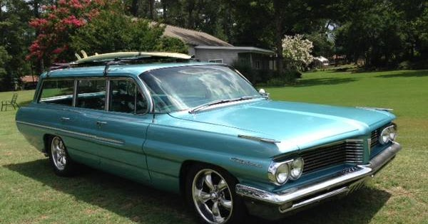 1962 Pontiac Catalina Safari Wagon Buy American Muscle Car